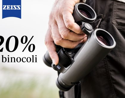 BINOCOLI ZEISS: SCOPRA IL -20% DI SCONTO NEI CENTRI BELOTTI