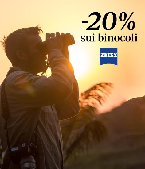 Binocoli ZEISS sconto 20% nei Centri Belotti